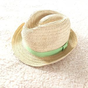 Other - Straw toddler fedora hat